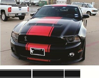 Ford Mustang Rally Racing Stripes Decals GTO Shelby GT 350 2005 - 2009 Eleanor