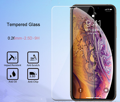 Tempered Glass Screen Protector LCD Skin Film Cover For Apple iphone XR Max