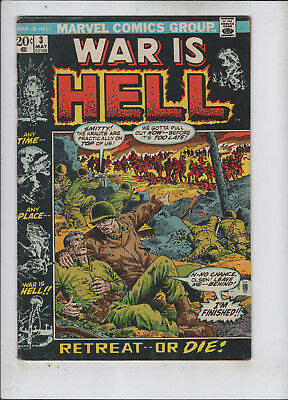War is Hell #3 fine+ to F/VF