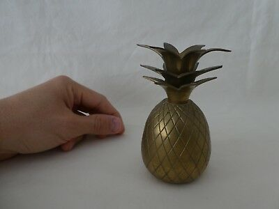 Vintage Brass Baby Pineapple