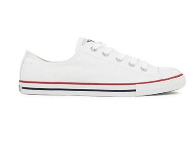 Converse Chucks Taylor All Star Ox Dainty Sneaker Schuhe 537204(Optical White)