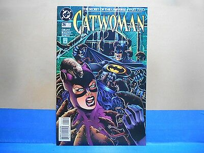 CATWOMAN Volume 1 #26 of 94 1993-2001 DC Comics Uncertified BALENT, GRANT