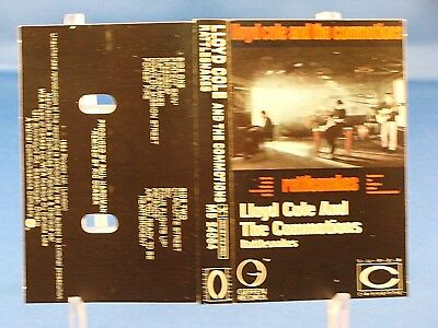 LLOYD COLE & THE COMMOTIONS - Rattlesnakes - EXCELLENT CONDITION 1984 Cassette