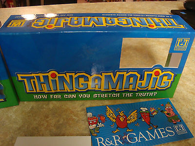 Thingamajig Game How Far Can You Stretch The Truth