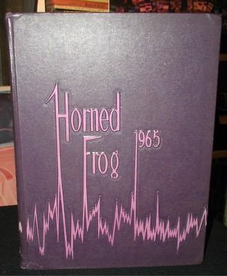 1965 TCU Texas Christian University Yearbook~Horned Frog 1965~Ft.Worth,Texas