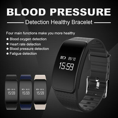 A59 Bluetooth Smart Bracelet Heart Rate Monitor Sports Band Step Calorie Counter