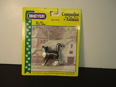 Breyer Companion Animal #1511 Silver Tabby cat New in package