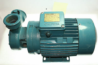CALPEDA WATER PUMP T 76E 1.1KW 3Ph 17Kg Inlet and Outlets are 39mm FREE POST