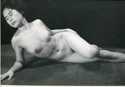 Reclining Japanese Or Chinese Nude Old Photo