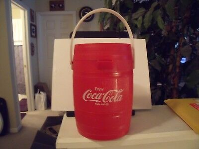 Coca-Cola Barrel Drinking Cup Mug Pizza King  Promotion 1970s Collectable