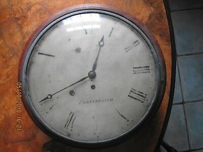 Hankins Farningham Early Convex Dial Clock Barn Find