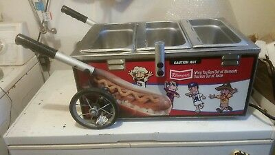 Hot dog Cart Mini Steamer Cooker Machine NEMCO KLEMET'S SAUSAGE RACE BREWERS ?