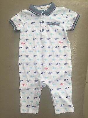 35fc87cafe63 TED BAKER BABY Boy Short Romper Suit Helicopter 6-9 Month - £6.99 ...