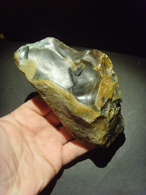 Palaeolithic - Exceptional Clactonian chopper from 'Lion Point' -  UK C.500,000+
