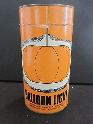 Vintage Balloon Light Can From Sears Roebuck Catalog Surplus Store