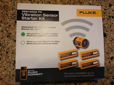 Fluke 3561/3502 FC Vibration Sensor Starter Kit; One-year Fluke Connect