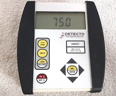 Detecto Scale 750 Digital Weight Indicator Display, 600LBS Calibrated.