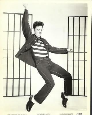 "Elvis Presley, "" Jailhouse Rock "" Movie Still"