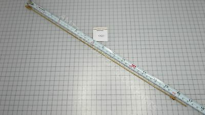 """Brass Pendulum Rod 43 Cm Or 17"""" With Rating Nut"""