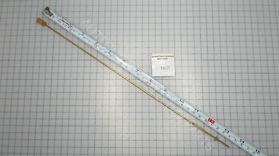 """Pendulum Rod Brass 35 Cm Or 13,5"""" With Flat Strip And Rating Nut"""