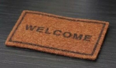 """Dollhouse Miniature Welcome Mat 1:12 Scale 2.5"""" US Seller"""