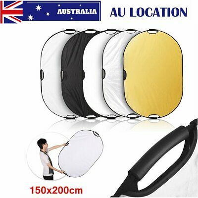 Selens 5in1 Photography Collapsible Light Reflector Diffuser with handle 60x90cm