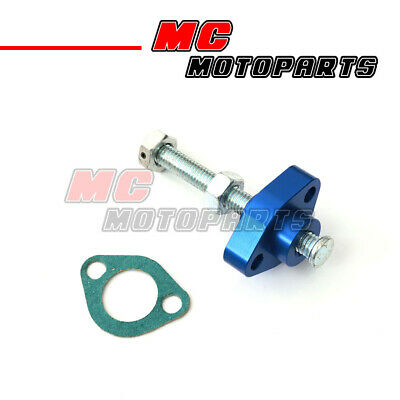 Fir Yamaha TT 350 86-93 Manual Cam Chain Tensioner Blue CNC