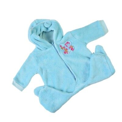 Plush Rompers Hat Suit Clothes for 22-23 Inch Reborn Boy Doll Clothing