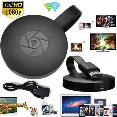 Miracast FHD 1080P G2-4 Generation Digital HDMI Media Streamer For iOS/Android