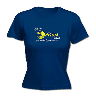 Funny Novelty Tops T-Shirt Womens tee TShirt - Its An Aries Thing You Wouldnt Un