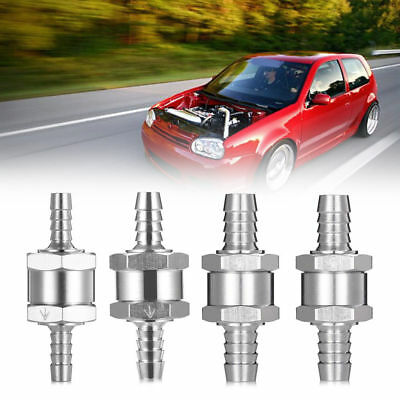 6/8/10/12mm One Way Fuel Non Return Check Valve For Petrol Diesel Water Oils