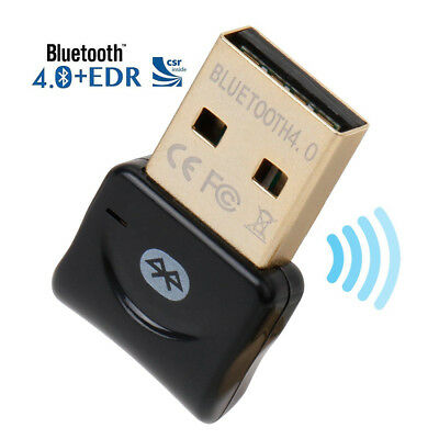 USB 4.0 Bluetooth CSR Adapter High Speed Dongle Wireless for PC Windows Computer