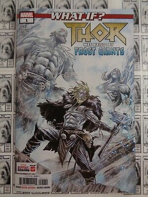 What If Thor (2018) Marvel - #1, Raised by Frost Giants, Sacks/Bandini, NM