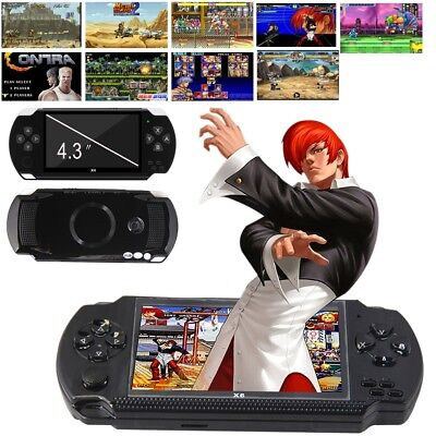 "Portable 4.3"" Handheld PSP Video Game Consoles Player X6 8G 32Bit 10000 Games UK"