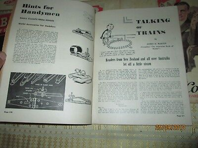 """HOBBIES ILLUSTRATED"""" 6x Magazines 1949.Vintage Collectables.ADVERTS BACK COVER."""
