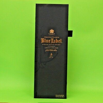 Johnnie Walker Blue Label Blended Scotch Whiskey Empty Original Box
