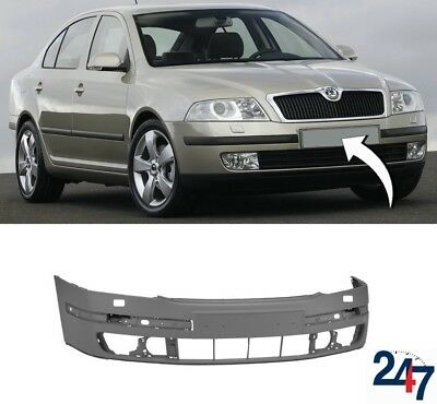 TO BE PAINTED AUDI Q7 2006-2009 W//H.LAMP WASHER HOLES /& SENSORS FRONT BUMPER