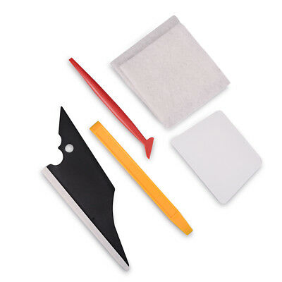 Car Wrapping 5in1 Tools Kit Conquerer Squeegee Clean Felt Pad Gasket Tucking UK