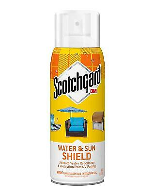 3M Scotchgard Water and Sun Shield with UV Protector, 1 Can, 10.5-Ounce New