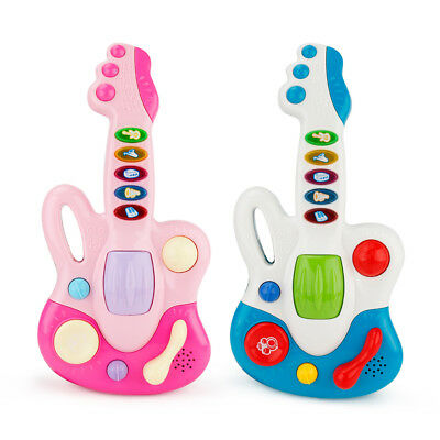 Musical Electronic Guitar Toy Educational Toys Early Toddler For Baby Music Play