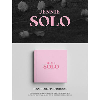 JENNIE Single Album - SOLO CD + Photobook(72P) + photocard