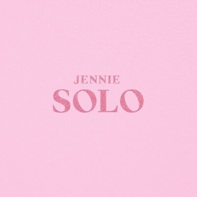 K-POP JENNIE BLACKPINK [SOLO] PHOTOBOOK CD+Photobook+Photocard+Postcard Sealed