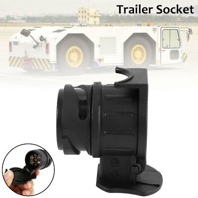 13 to 7 Pin Trailer Truck Socket Electric Towing Converter Tow Bar Plug Adaptor