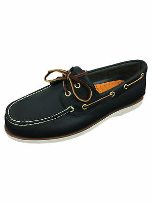 TIMBERLAND MENS CLS2I Lace Up Boat Shoe in Rootbeer Brown