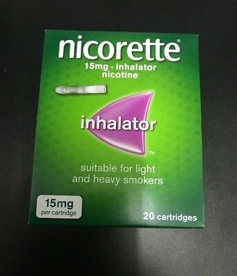NICORETTE 15mg Inhalator - 20 Cartridges