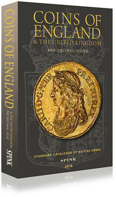 SPINK COINS OF ENGLAND 2018 HARDBACK **NOW ONLY £22**  **Free UK P&P**