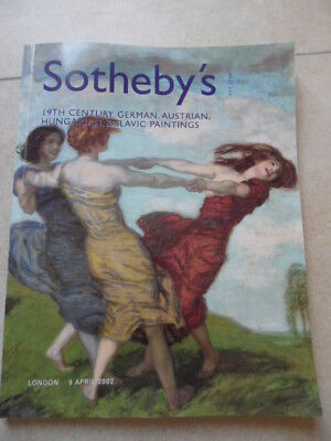 Sotheby´s London 19th Century German, Austrian, Hungarian and Slavic Paintings