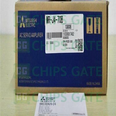 1Pcs New Mr-J4-70B Mrj470B Mitsubishi Servo Drive