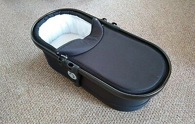 Black iCandy Peach Carrycot - Good Condition