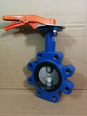 "Wolseley Jet PN 160 DJLM Butterfly Valve 16 BAR 316 Stainless Disc DN80 3"" *"